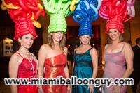 Chihuly Hats Photo