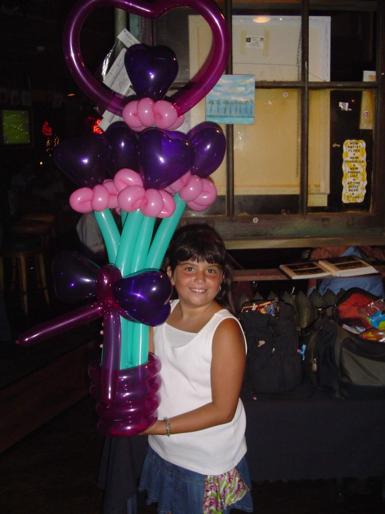 Another balloon heart flower bouquet balloon delivery