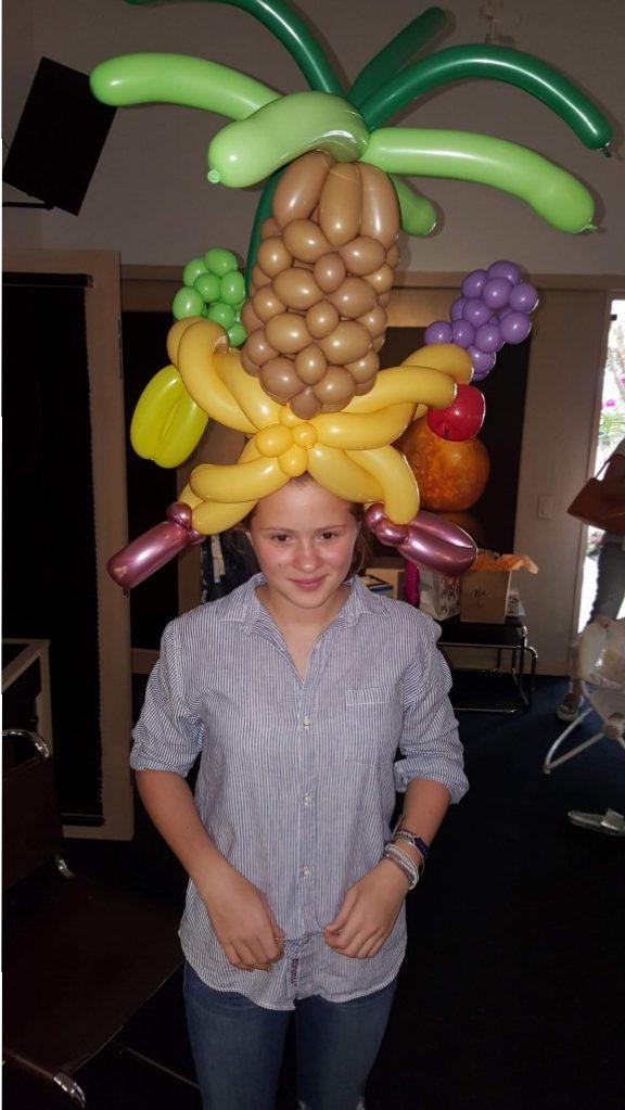 Balloon Carmen Miranda Hat