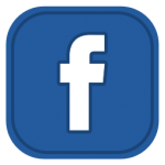 Facebook social media button