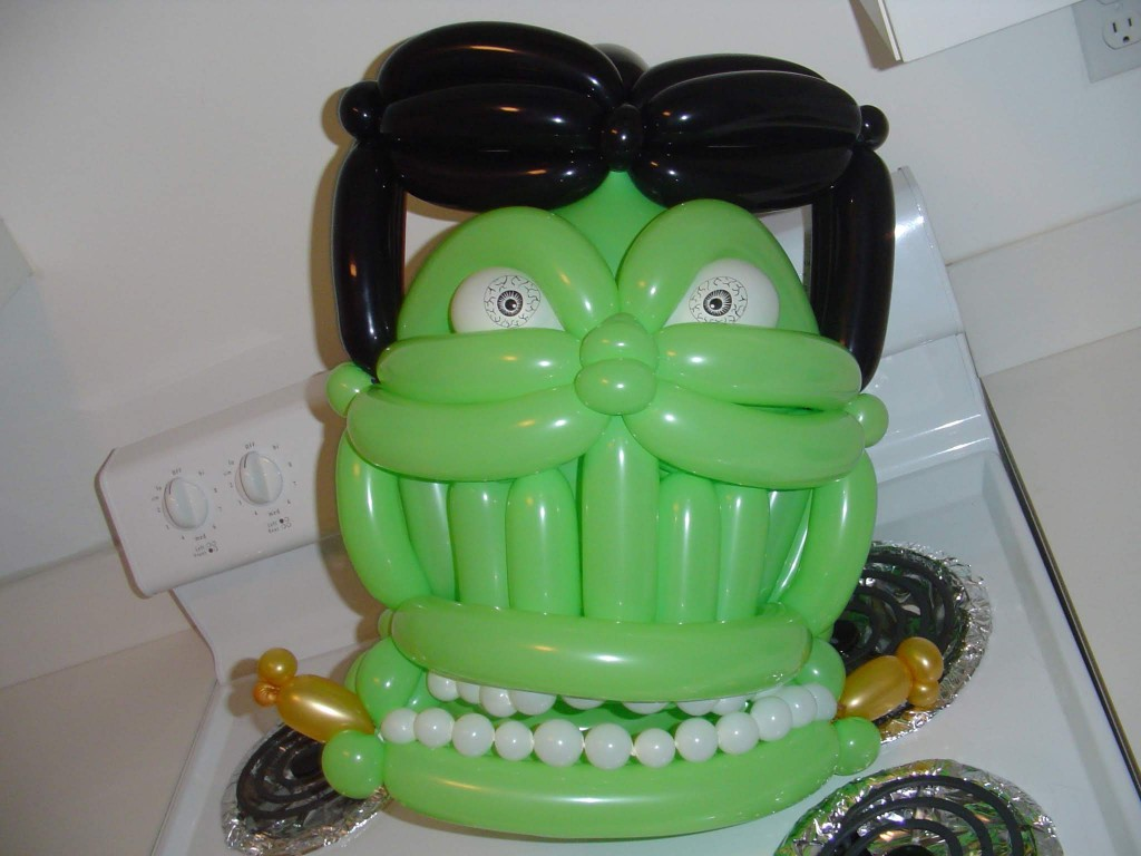 Frankenstein's Monster balloon head