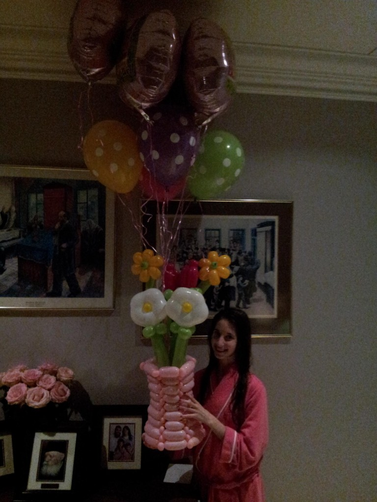 Get well balloon bouquet delivery