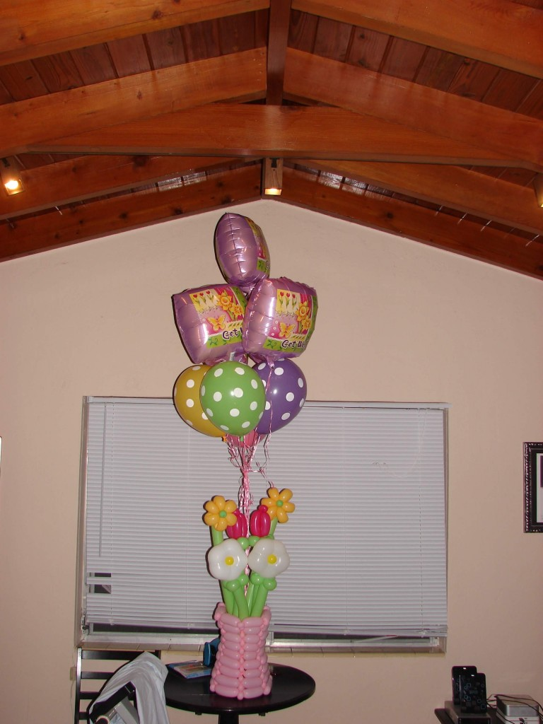 Get Well Soon balloon bouquet delivery number two