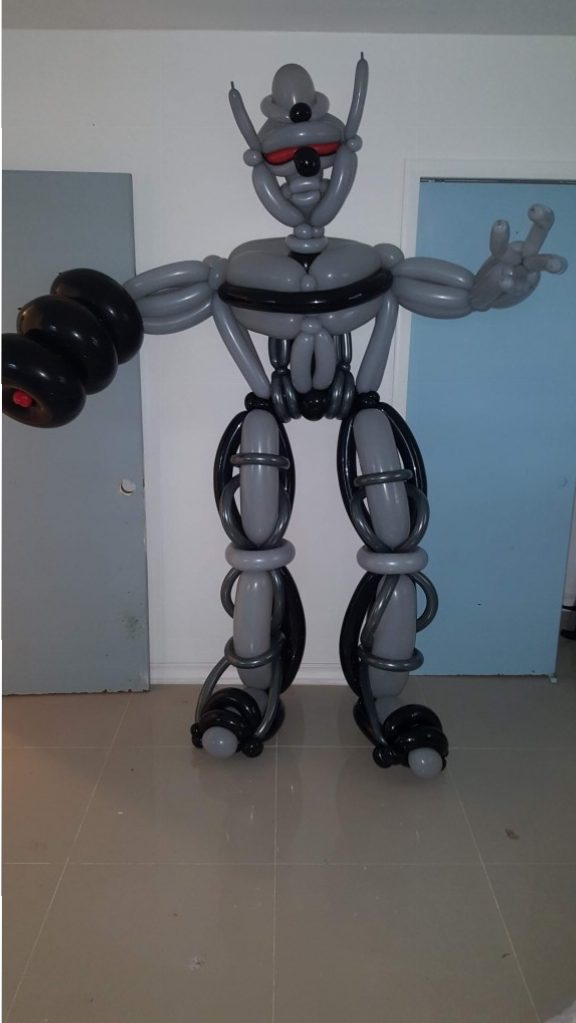 Megatron Transformers Balloon Parody Stand-UpqMegatron Transformers Balloon Parody Stand-Up