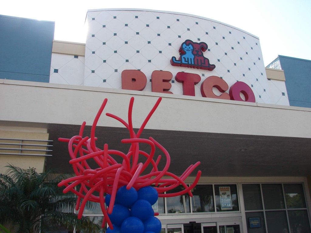 Petco Balloon display