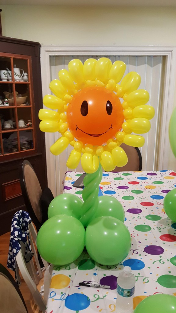 Plants vs Zombies Singing Sunflower balloon delivery