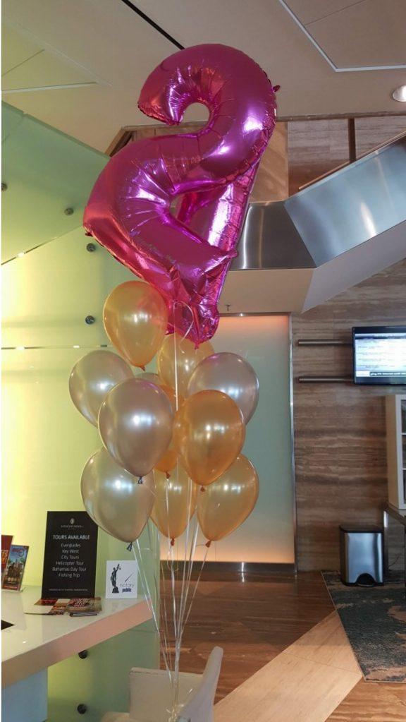 Twenty First Birthday Balloon Delivery