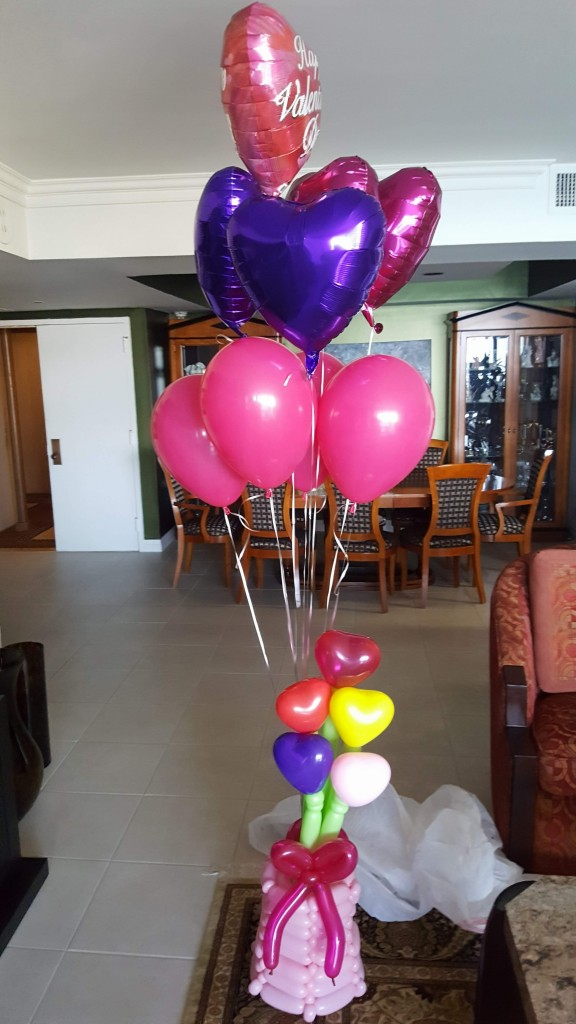 Valentines Day Balloon Bouquet delivery